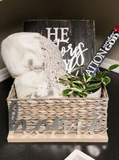 Cozy Blankets, Gift Baskets, House Warming, Best Gifts, Decorative Boxes, Gift Wrapping, Packaging, Real Estate, Gift Ideas