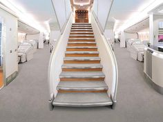The way to heaven in A380!