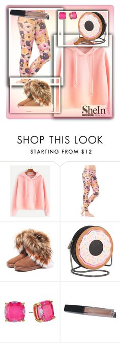 """Do-nut have fun"" by jckallan ❤ liked on Polyvore featuring Emily Hsu Designs, Circus by Sam Edelman and Kate Spade"