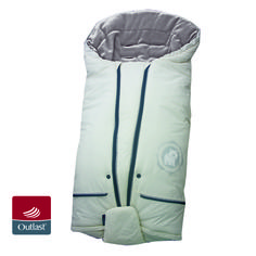 Dimensions: short / light version: 90 x 45 cm;   Extending / light version: 100 x 45 cm;   extended / expanded version: 100 x 50 cm;   Bag distributed on the pad: 100 x 90 cm.  The circuit Bag for wearing his belt extension increases by 10 cm.  The warmth: to - 10 ° C. Machine wash at 40 ° C.