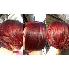 Vibràló vörös hajszín.Hsj Farkas Andrea
