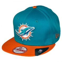 Miami Dolphins NFL 9Fifty Snapback Baseball Cap available at  VillageHatShop  Football Caps d84403cff61