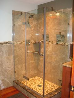 I don't like the floor, but this shower is nice