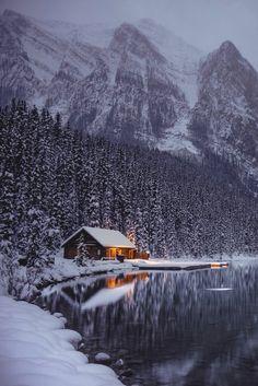 Idyllic cabin