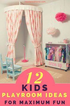 12 Kids Playroom Ideas For Maximum Fun Wow your kids with these amazing playroom ideas to inspire their space. The post 12 Kids Playroom Ideas For Maximum Fun appeared first on Toddlers Ideas. Playroom Table, Toddler Playroom, Playroom Storage, Playroom Design, Playroom Decor, Playroom Ideas, Little Girls Playroom, Playroom Paint, Modern Playroom