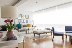 Projeto de decoração de interiores de um apartamento de 300m2, localizado no bairro de Higienopolis. Veja fotos do resultado desse belo projeto de decoração