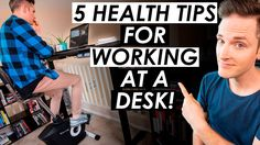How To Stay Fit and Healthy Working at a Desk Job — 5 Office Health Tips - WATCH VIDEO here -> http://makeextramoneyonline.org/how-to-stay-fit-and-healthy-working-at-a-desk-job-5-office-health-tips/ -    work at home job tips  5 tips on how to stay fit and healthy working at a desk job! ***** Watch the free YouTube Masterclass at  (Video) Electric Standing Desk Review (This is the standing desk I use)   (Video Playlist) Office Health Tips Series  (Standing Desk Bike I Use)