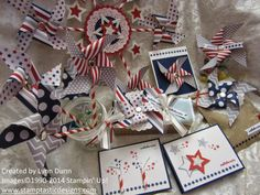 June Paper Pumpkin  fourth of July ideas  Stampin' Up!