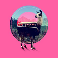 Llama is a T Shirt designed by aligulec to illustrate your life and is available at Design By Humans