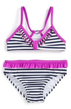 Jessica Simpson Two-Piece Swimsuit (Toddler Girls) available at #Nordstrom