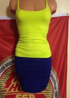 Buy my item on #vinted http://www.vinted.com/womens-clothing/mini-skirts/13952793-bebe-mini-skirtbebe-racer-back-tank
