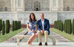 Kate Middleton Tours India in L.K. Bennett 'Fern' Pumps