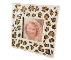MOYNA New York Large Picture Frame With Beaded Leopard Print #MOYNANewYork #home #wholesale #shoptoko