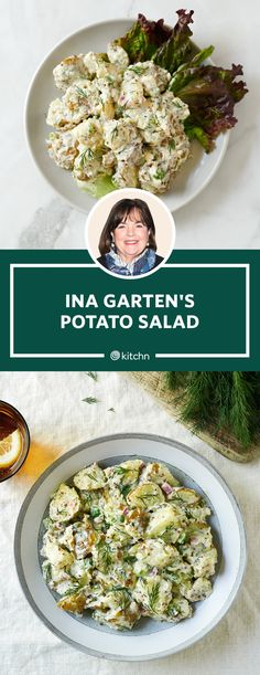 Potato Dishes, Potato Recipes, Vegetable Dishes, Vegetable Recipes, Best Potato Salad Recipe, Vegetable Snacks, Ina Garten Potato Salad, Ina Garten Pasta Salad, Chicken Salad Recipes