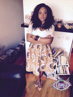 African wax print short skirt by Ishujon on Etsy https://www.etsy.com/listing/222613984/african-wax-print-short-skirt