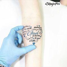 Tatuaje nacimiento bebé