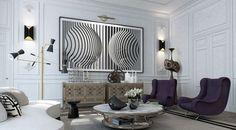 Modern Living Room d
