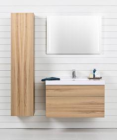 Porsgrund Trend i alm Black Walls, Pusheen, Bathroom Furniture, Scandinavian Style, Bathroom Inspiration, Toilet, Cabinet, Interior, Home Decor