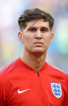 John Stones Photos - John Stones of England looks on prior to the 2018 FIFA World Cup Russia Quarter Final match between Sweden and England at Samara Arena on July 2018 in Samara, Russia. England: Quarter Final - 2018 FIFA World Cup Russia Football Boys, Football Players, Fifa, Light And Shadow Photography, Paris Saint Germain Fc, England Players, John Stones, Spanish Men, England National