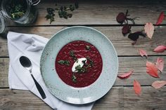 Your new favourite beetroot soup — Cake and beans Beetroot Soup, Cheap Meals, Vegetarian, Vegan, Healthy, Inspiration, Biblical Inspiration, Frugal Meals, Health