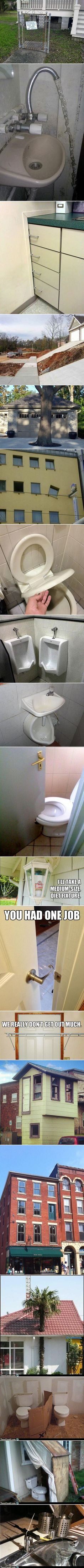 We have rounded up a few construction FAILS that will leave you puzzled.