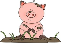 Free pig clip art from mycutegraphics.com