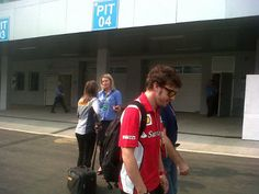 And Alonso is here! | Image by parakram_h | 2012