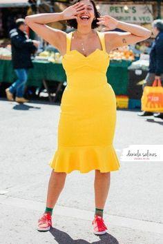 Dress in giallo per rendere il tuo look unico e speciale. Disegna il tuo stile Daniela Salinas Style Coach www.danielasalinas.com seguimi su instagram dsfashionbook Curvy Fashion, Fashion Looks, Bodycon Dress, Style, Instagram, Dresses, Swag, Vestidos, Body Con