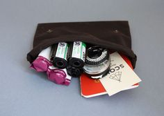 Scout Supply - waxed cotton traveler pouch