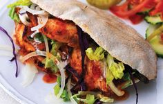 The Chicken Doner Kebab is a favourite food of many in the UK. Though it is a favourite it is mostly eaten by wealthier families because of its price. It is sometimes served and eaten with chips.