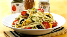 Pasta Pronto with Black Olives