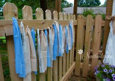 Charming Country Wedding on a Budget - DIY Ideas - Neverland Nook ...