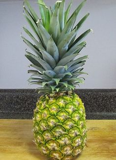 How to grow your own Pineapple in your house. This looks interesting.