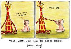 Motivating Giraffe (by Penny Redshaw)