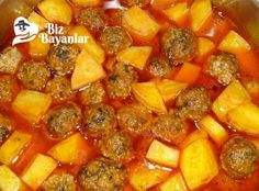 Different Vegetables With Protein Juicy Meatball Recipe, Meatball Recipes, Sweet Potato Souffle, Sweet Potato Casserole, Potato Recipes, Meat Recipes, Bunuelos Recipe, Turkish Recipes, Ethnic Recipes