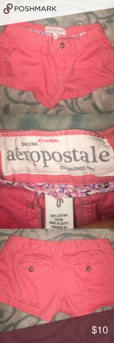 Girls shorts Perfect condition, only worn a few times. Size 0 for girls. From Aéropostale Aeropostale Shorts Jean Shorts