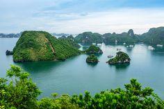 Vietnam, Halong Bay  www.justluxe.com