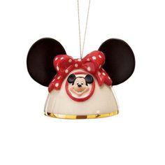 Lenox My Own Mickey Ears-Girl Ornament. #Lenox #Statue #Sculpture #Figurine #Decor #Gift #gosstudio .★ We recommend Gift Shop: http://www.zazzle.com/vintagestylestudio ★