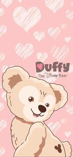 Le Joker Batman, Duffy The Disney Bear, Friends Wallpaper, Cute Cartoon Wallpapers, Project Life, Iphone Wallpaper, Teddy Bear, Pink, Cards