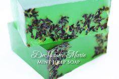 SOAP Mint Julep Soap Mint Soap Vegan Soap by DeShawnMarie on Etsy