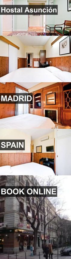Hotel Hostal Asunción in Madrid, Spain. For more information, photos, reviews and best prices please follow the link. #Spain #Madrid #HostalAsunción #hotel #travel #vacation