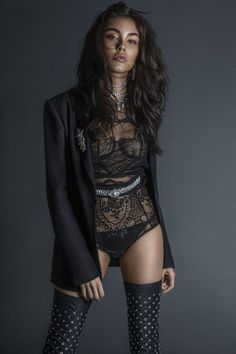 Madison Beer for L'Officiel India! Estilo Madison Beer, Madison Beer Style, Lingerie Shoot, Lingerie Models, Sexy Outfits, Fashion Beauty, Womens Fashion, Steampunk Fashion, Gothic Fashion