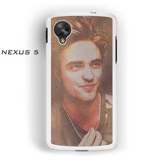 Robert pattinson Smile for Nexus 4/Nexus 5 phonecases