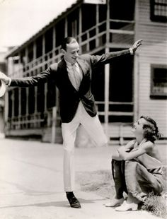 Fred Astaire and Joan Crawford, 1933.