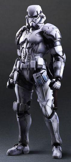 STAR WARS VARIANT PLAY ARTS KAI - Storm trooper