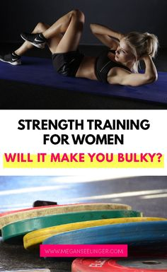 Will lifting weights make a woman bulky? Is it better to lift weights or do cardio? Ladies lifting weights will not make you bulky, in fact, weight lifting is the best way to burn fat naturally and I'd even encourage you to lift weights every day. Let's talk about the many benefits of lifting weights for females. Read more to get the full details! Best Gym Workout, Gym Workouts, Yoga Fitness, Fitness Tips, Easy Workouts For Beginners, Work Out Routines Gym, Women Lifting, Lift Weights, Weight Training Workouts