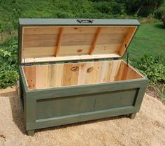 This is our Extra Large Hope Chest imagine it at the end of your bed bench...Use it to store your extra linens & blankets. Your Looney Bin