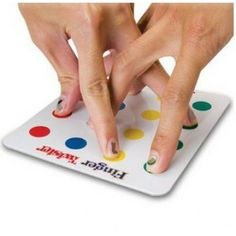 Finger Twister Game - Kids Funny Toys & Hobbies ::INFPASS