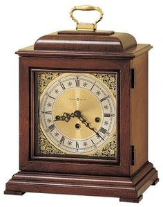 Found it at Clockway.com - Howard Miller Lynton Chiming Key Wound Mantel Clock - CHM1638