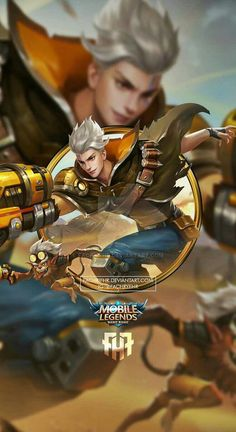 Wallpaper Phone Claude Golden Bullet by FachriFHR on DeviantArt Bruno Mobile Legends, Miya Mobile Legends, Wallpaper Hd Mobile, Wallpaper Hp, Moba Legends, Alucard Mobile Legends, Golden Warriors, Android Mobile Games, Legend Games